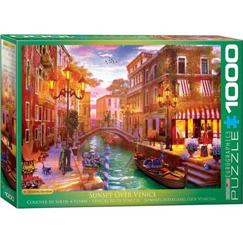 Пазл Eurographics Венецианская романтика. Доминик Дэвисон, 1000 элементов