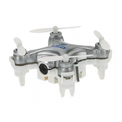 Квадрокоптер нано Wi-Fi Cheerson CX-10W с камерой (серый) CBGames