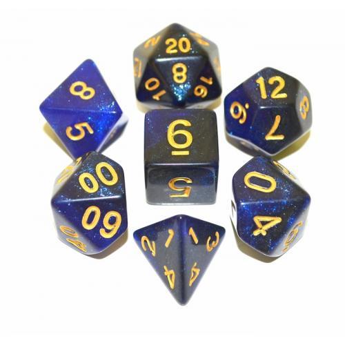 Набор Galaxy кубиков RPG 7 шт (цвет в ассортименте)