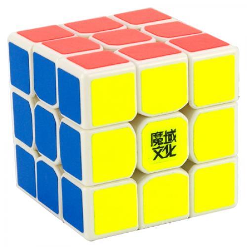 3х3 MoYu TangLong white | Скоростной кубик 3х3 МоЮ ТангЛонг белый пластик