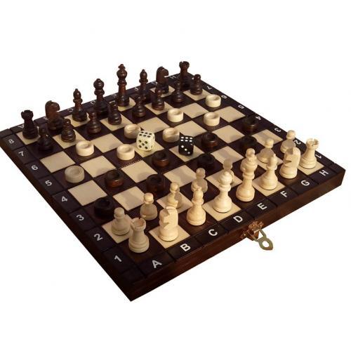 Шахматы + шашки + нарды № 142