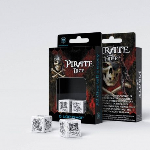 Набор кубиков Pirate 2D6 Dice