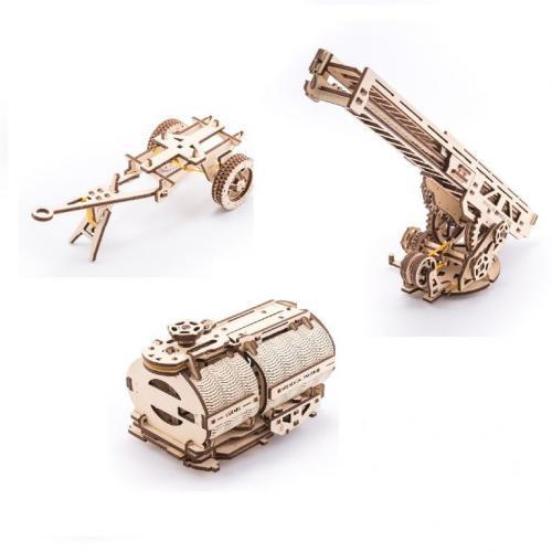 Трехмерная механическая головоломка-конструктор «Набор дополнений к модели грузовика» (UG-020)