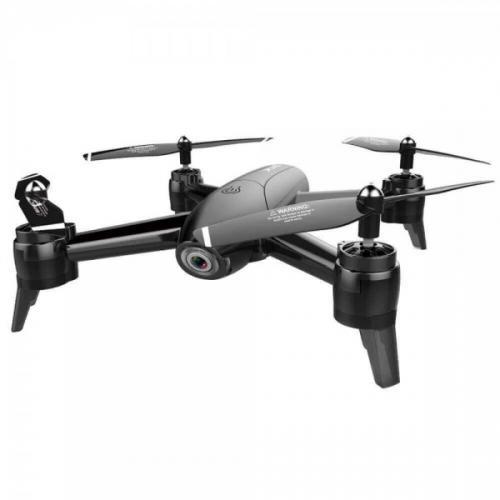 Visuo SG-106 Black − дрон с 4К и HD камерами, FPV, до 22 мин. полета + БАТАРЕЙКИ В ПОДАРОК