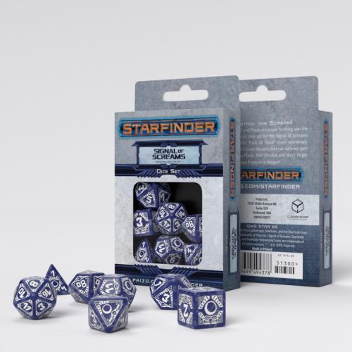 Набор кубиков Starfinder Signal of Screams Dice Set