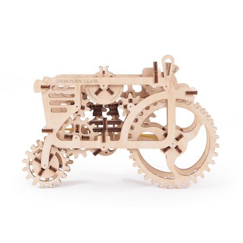 Трехмерная механическая головоломка-конструктор «Трактор» (UG-006)