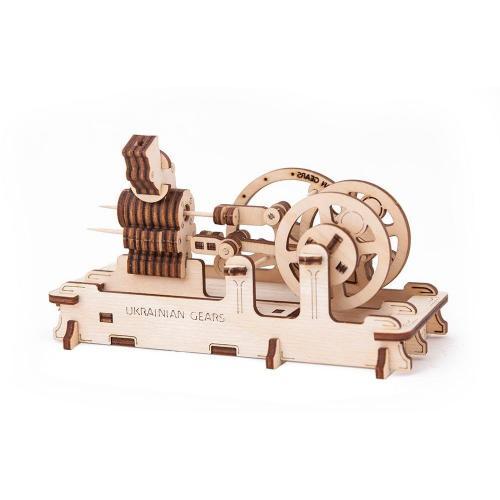 Трехмерная механическая головоломка-конструктор «Двигатель» (UG-010)