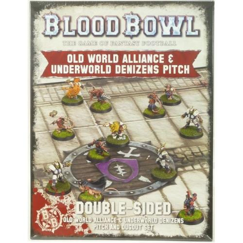 BLOOD BOWL: OLD WORLD + UNDERWORLD PITCH