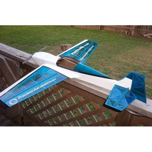 Самолёт р/у Precision Aerobatics Katana Mini 1020мм KIT (синий)