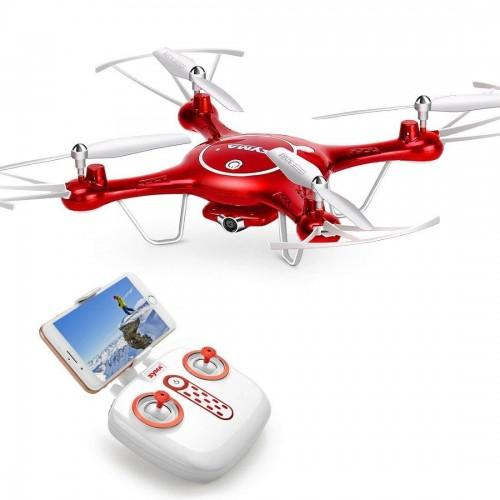 Syma X5UW − дрон с Wi-Fi камерой, FPV, удержанием высоты + БАТАРЕЙКИ В ПОДАРОК