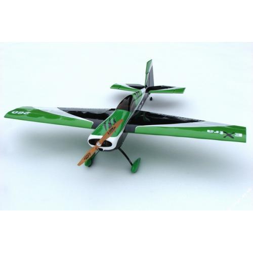 Самолёт р/у Precision Aerobatics Extra 260 1219мм KIT (зеленый)