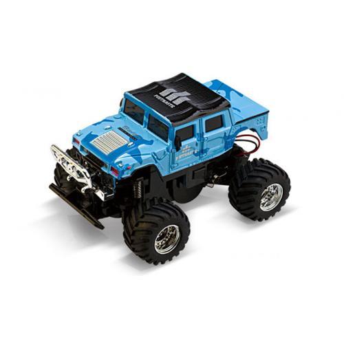 Машинка на радиоуправлении Джип 1:58 Great Wall Toys 2207 (голубой, 40MHz)