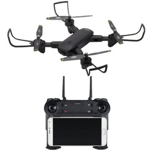 Visuo SG-700 Black − дрон c 2 камерами, Удержание Высоты + БАТАРЕЙКИ В ПОДАРОК