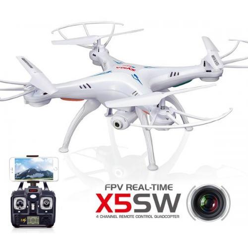Квадрокоптер Syma X5SW с камерой WiFi (белый) CBGames