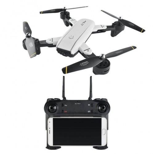 Visuo SG-700 White − дрон c 2 камерами, Удержание Высоты + БАТАРЕЙКИ В ПОДАРОК
