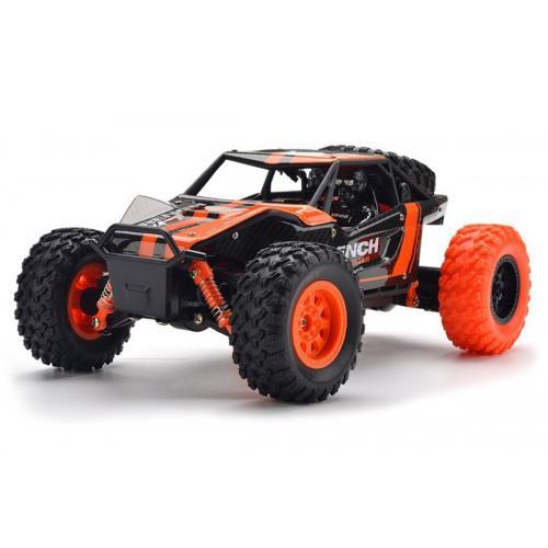 Машинка на радиоуправлении 1:24 HB Toys Багги 4WD на аккумуляторе (оранжевый)