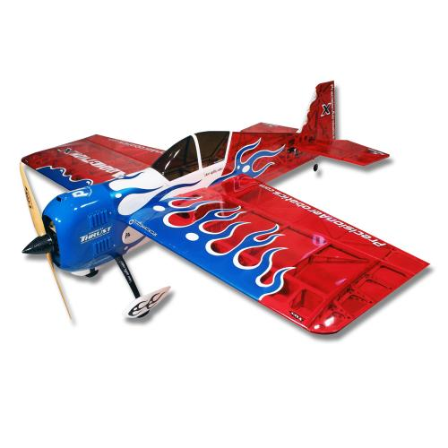Самолёт р/у Precision Aerobatics Addiction X 1270мм KIT (красный)