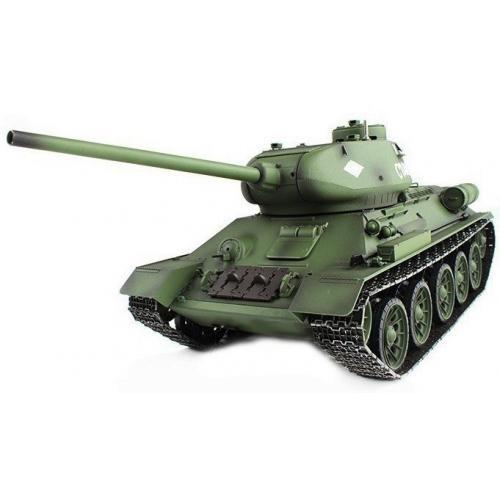 Танк на радиоуправлении 1:16 Heng Long T-34 с пневмопушкой и и/к боем (Upgrade)