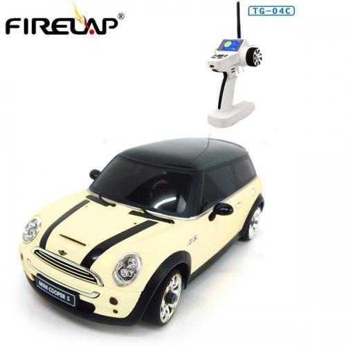 Автомодель р/у 1:28 Firelap IW04M Mini Cooper 4WD (белый)