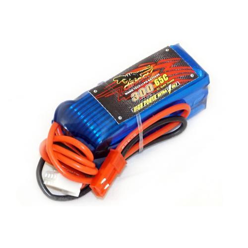 Аккумулятор Dinogy Li-Pol 300mAh 11.1V 3S 65C JST 44x17x21мм