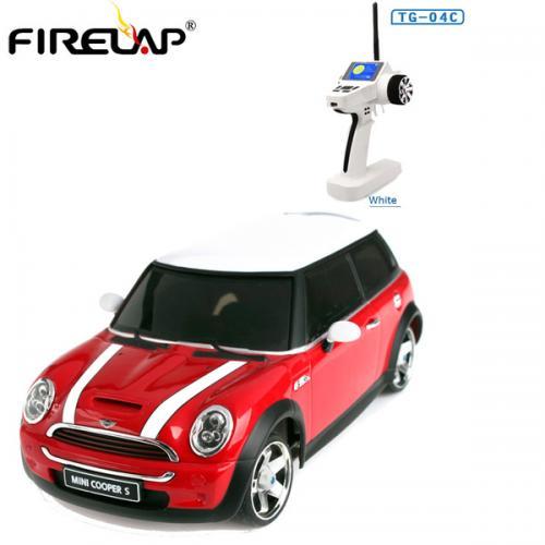 Автомодель р/у 1:28 Firelap IW04M Mini Cooper 4WD (красный)