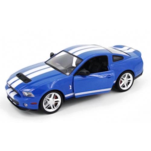 Машинка радиоуправляемая 1:14 Meizhi Ford GT500 Mustang (синий)