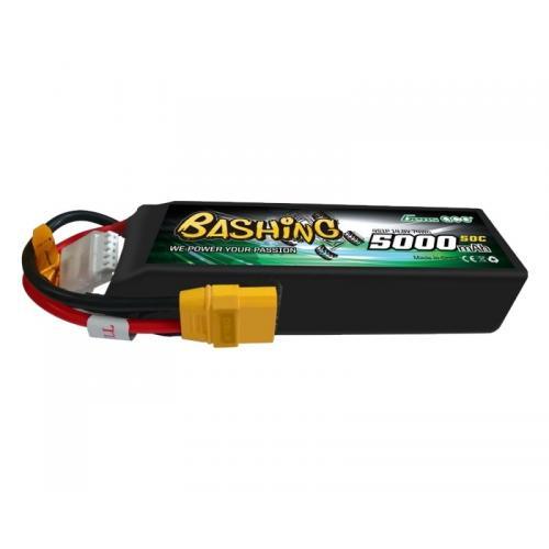 Аккумулятор Gens Ace LiPO 14,8В 5000мАч 4S 50C 137х41х32мм 395г XT90 (B-50C-5000-4S1P-Bashing)