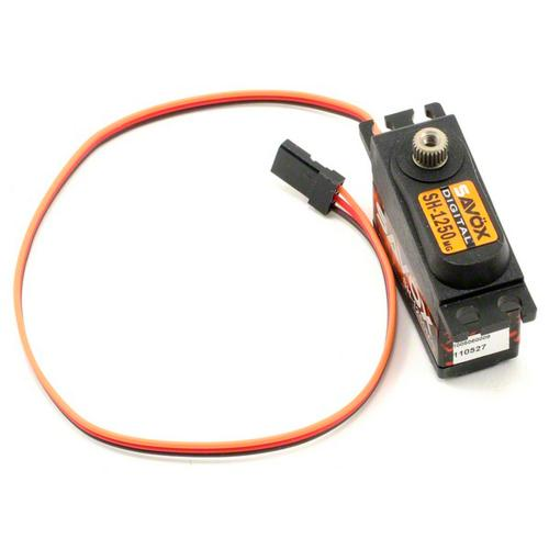 Сервопривод Savox 3,7-4,6 кг/см 0,13-0,11 сек/60° 35х15х29,2мм 29,6г цифровой (SH-1250MG)