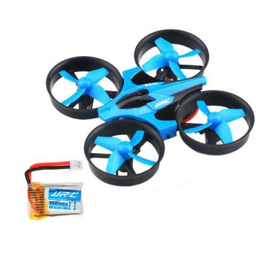 Квадрокоптер JJRC H36 mini (синий) с 2мя аккумуляторами