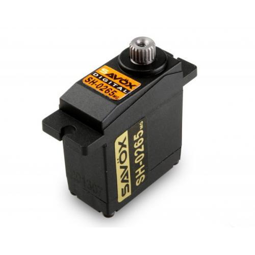 Сервопривод Savox 1,8-2,4 кг/см 0,09-0,075 сек/60° 22,8х12х27,5мм 15г цифровой (SH-0265MG)