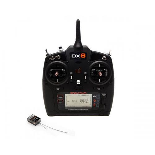 Пульт управления Spektrum DX6 G3 6CH приемник AR6600T DSMX 2,4 ГГц с телеметрией (SPM6755)