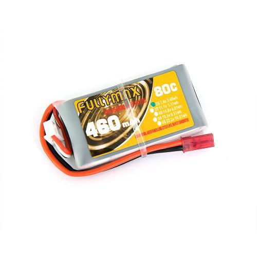 Аккумулятор Fullymax 7.4V 460mAh Li-Po 2S 80C JST
