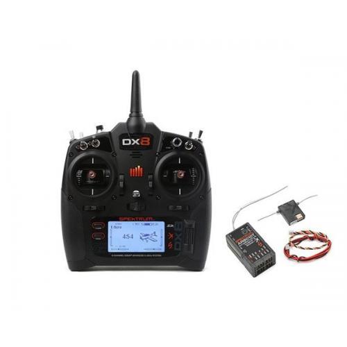 Пульт управления Spektrum DX8 G2 8CH приемник AR8010T 8CH 2,4 ГГц DSMX (SPM8015)