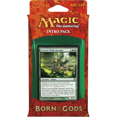 MTG: Born of the Gods Intro Pack: Insatiable Hunger (RG)