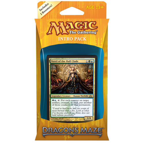 MTG: Dragon's Maze Intro Pack: Simic Domination