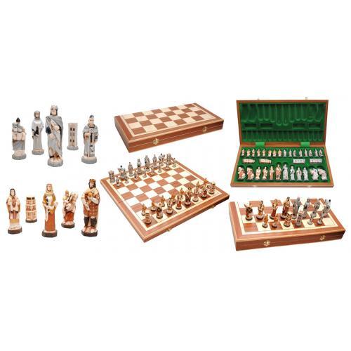 Шахматы ENGLAND интарсия № 3158