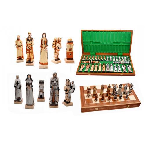 Шахматы GRUNWALD интарсия № 3160