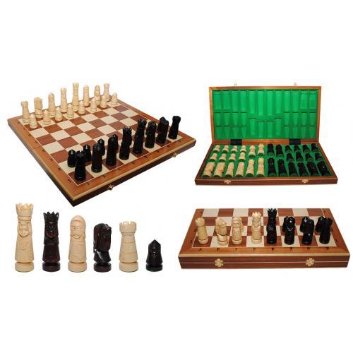 Шахматы LARGE CASTLE Intarsia № 310601