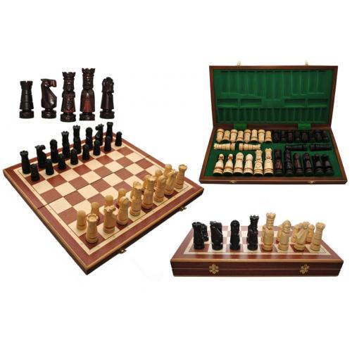 Шахматы Large Castle интарсия № 310605
