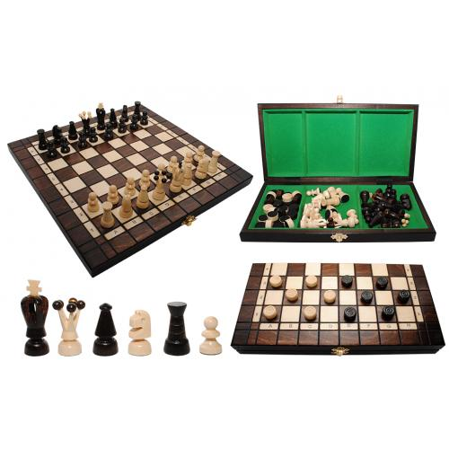 Шахматы + шашки № 316501