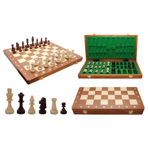 Шахматы турнирные N5 Intarsia № 3055
