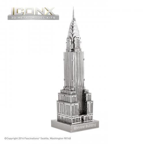 Небоскреб Chrysler Building ICONX