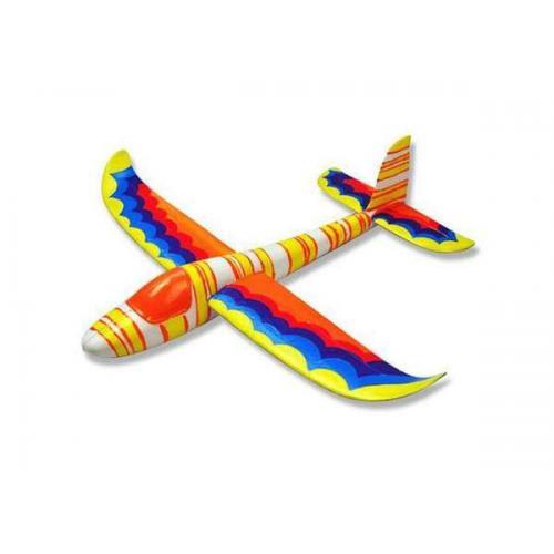Метательная модель самолета J-Color Hawk 0,6 м c комплектом красок