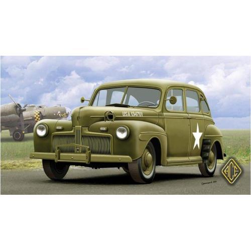 Американский штабной автомобиль 1942г (ACE72298) Масштаб:  1:72