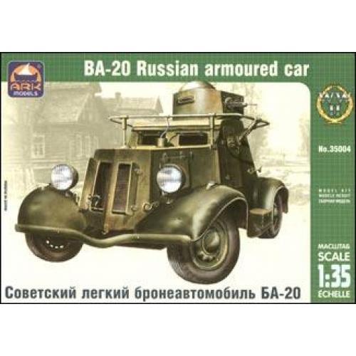 ARK35004 Ba-20 Russian armored car (ARK35004) Масштаб:  1:35