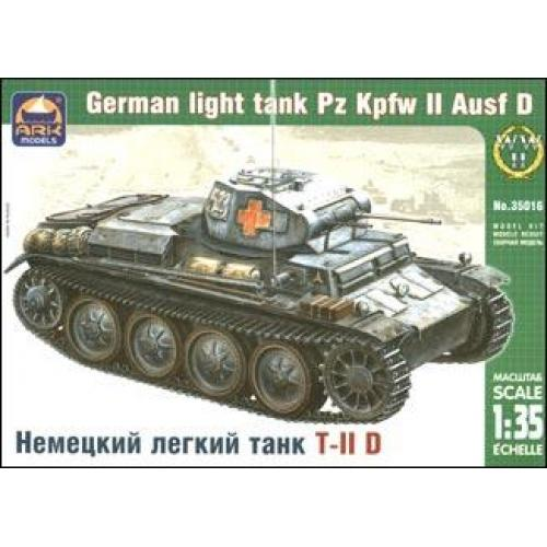ARK35016 Pz.Kpfw II Ausf.D German light tank (ARK35016) Масштаб:  1:35