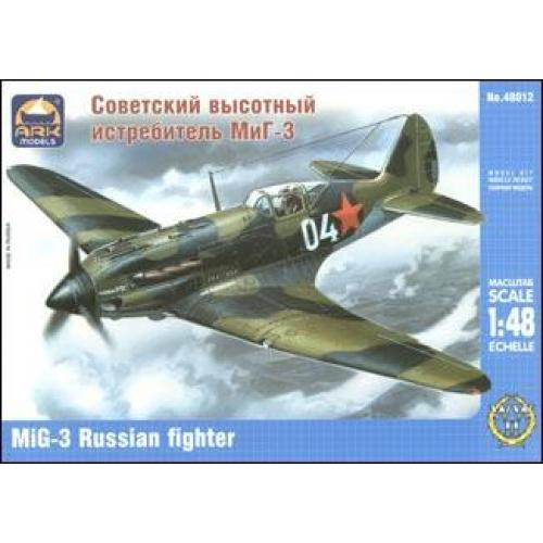 ARK48012 MiG-3 Russian fighter (ARK48012) Масштаб:  1:48