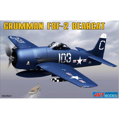 ART7201 Grumman F8F-2 BEARCAT USAF carrier based fighter (ART7201) Масштаб:  1:72