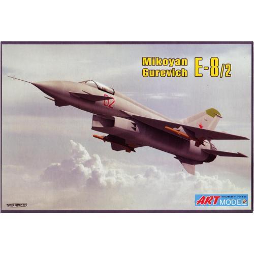 Экспериментальный истребитель-перехватчик Микоян Е-8 (ART7209) Масштаб:  1:72