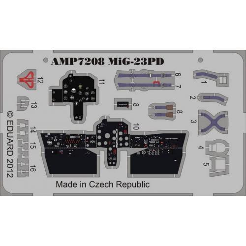 Фототравление на Миг-23ПД (ART Model) (AMP7208) Масштаб:  1:72